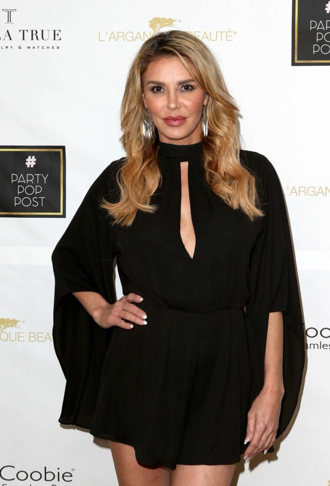 Brandi Glanville - PartyPopPost at The Peninsula in Beverly Hills