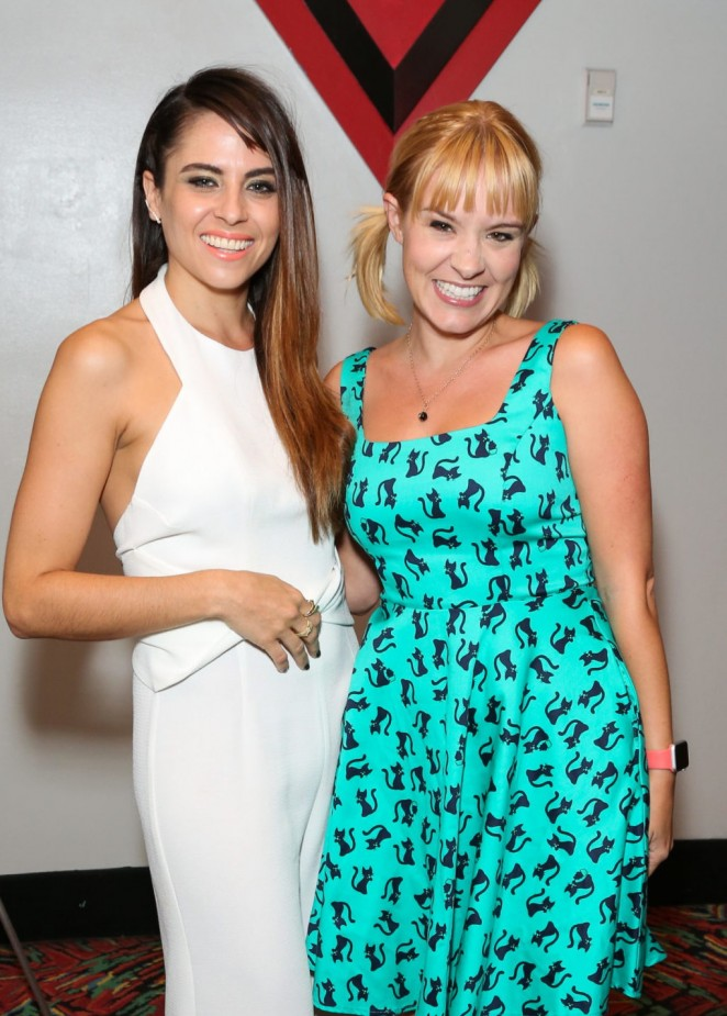 Brea Grant and Ashley C Williams - 'Julia' Screening in Burbank