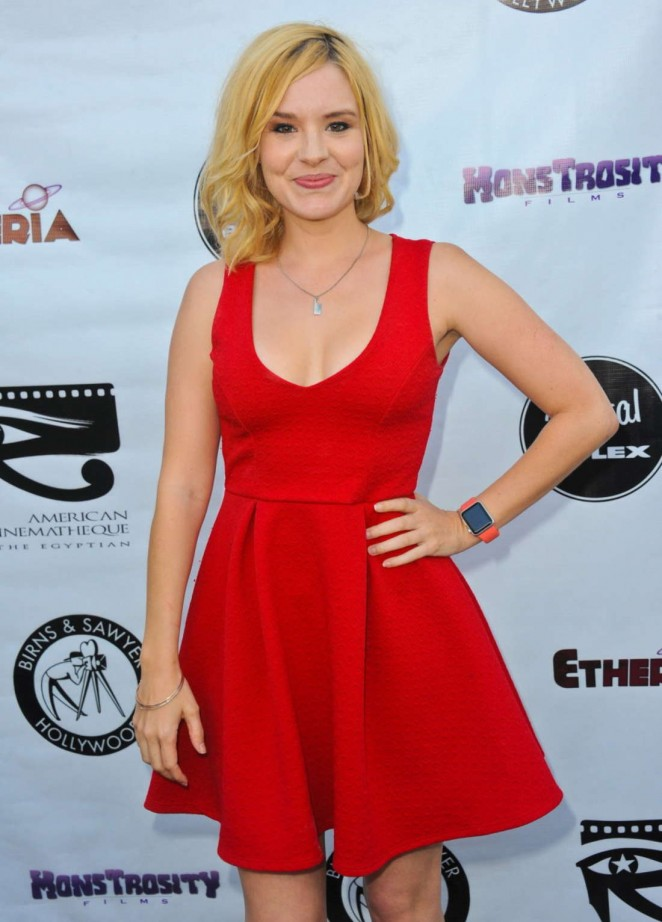 Brea Grant – Etheria Film Night in Hollywood