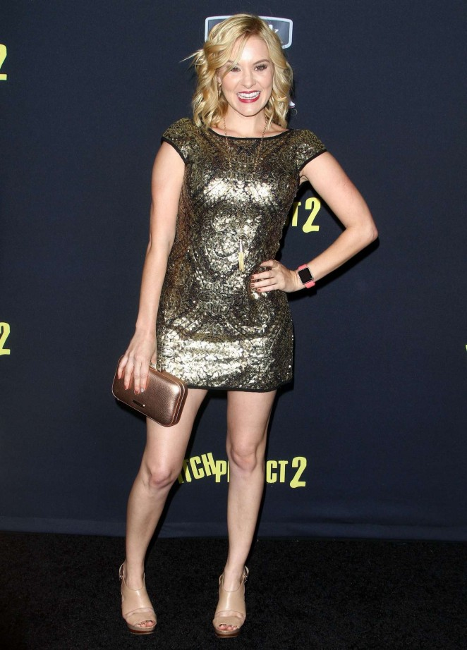 Brea Grant - 'Pitch Perfect 2' Premiere in LA
