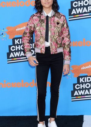 Breanna Yde - 2018 Nickelodeon Kids' Choice Awards in Los Angeles