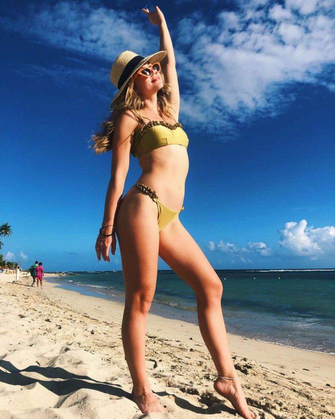 Brec Bassinger in Bikini - Social Media Pics