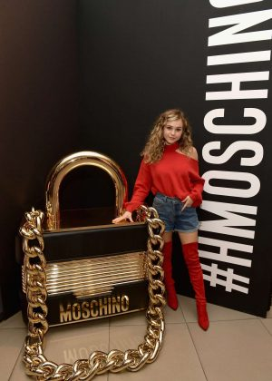 Brec Bassinger - Moschino x H&M Los Angeles Launch Event in LA