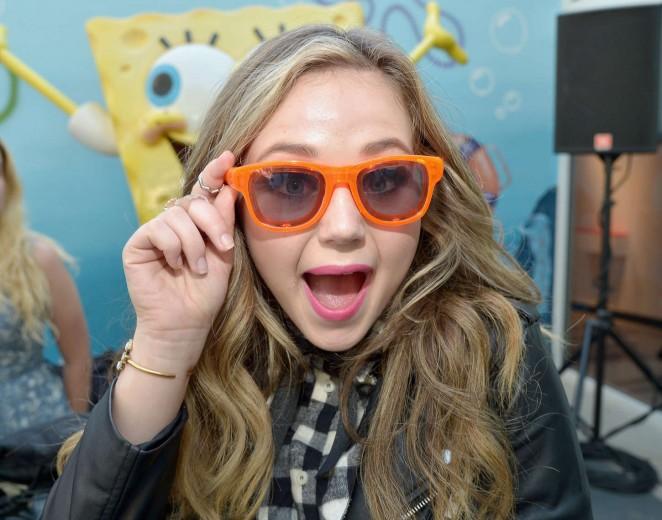 Brec Bassinger - Nickelodeon Animation Studio Halloween Event in Burbank