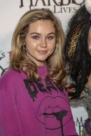Brec Bassinger - Queen Mary's 10th Annual Dark Harbor Media and VIP Night in Long Beach