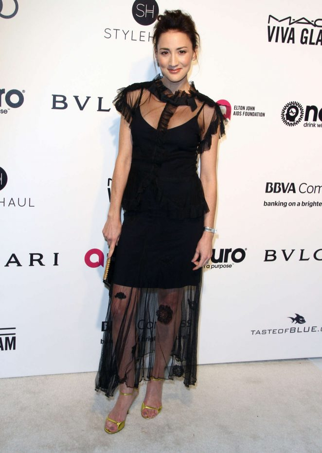 Bree Turner - 2017 Elton John AIDS Foundation's Oscar Viewing Party in West Hollywood