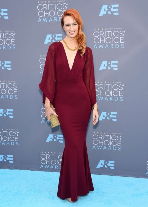 Breeda Wool - 2016 Critics' Choice Awards in Santa Monica