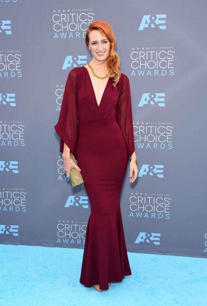 Breeda Wool – 21st Annual Critics' Choice Awards in Santa Monica