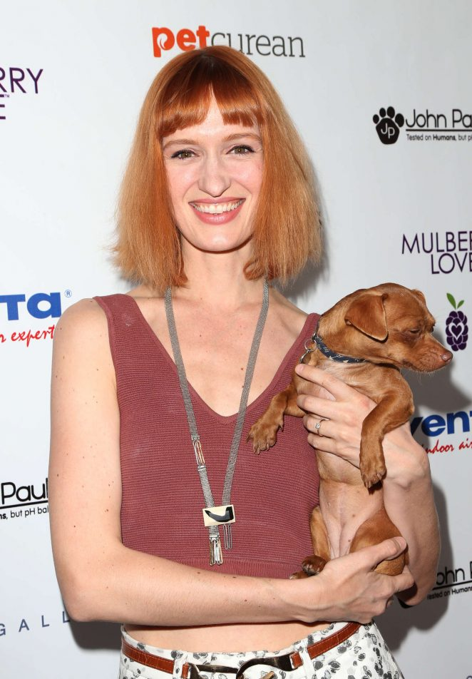 Breeda Wool – 2nd Annual Art for Animals Fundraiser Evening For Eastwood Ranch Foundation in LA