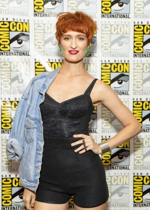 Breeda Wool - 'Mr. Mercedes' Photocall at 2018 Comic Con in San Diego