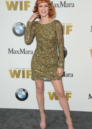 Breeda Wool - Women in Film 2016 Crystal Lucy Awards in Los Angeles
