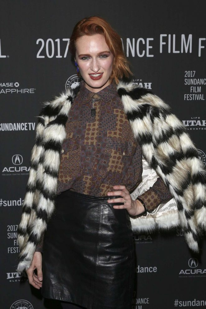 Breeda Wool - 'XX' Premiere at 2017 Sundance Film Festival in Utah