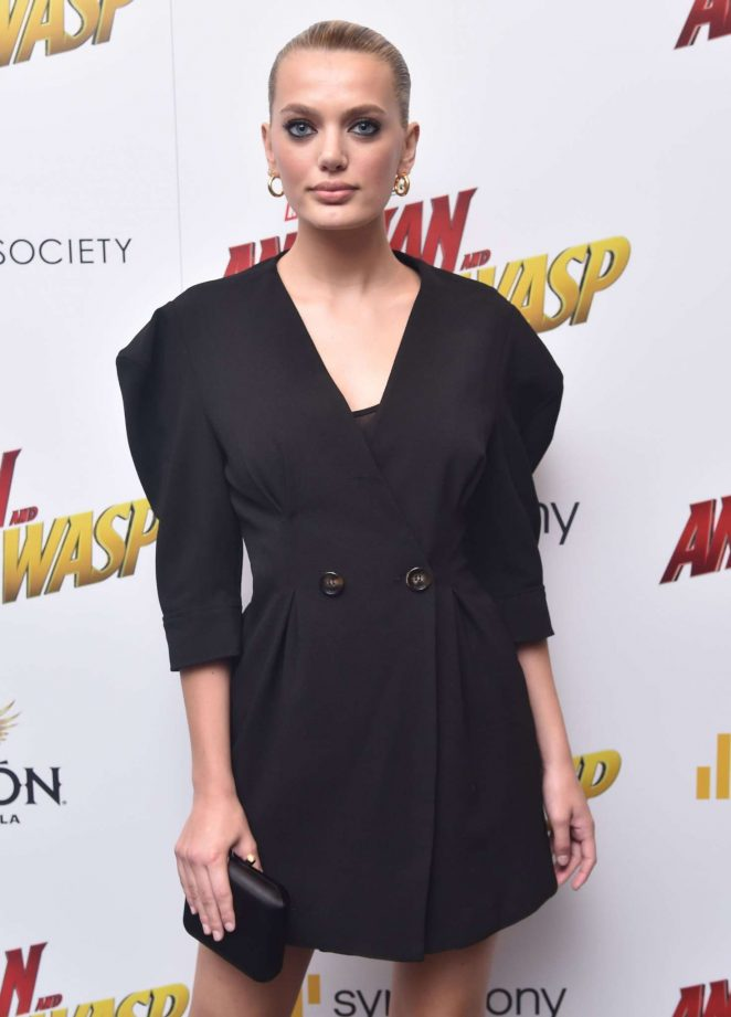 Bregje Heinen - 'Ant-Man and The Wasp' Premiere in New York