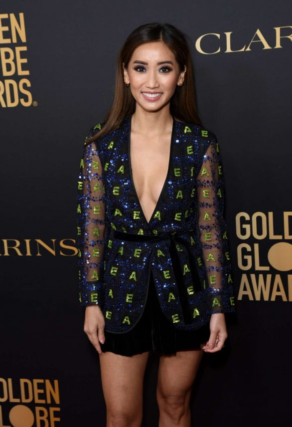 Brenda Song - 2019 HFPA And THR Golden Globe ambassador party in West Hollywood
