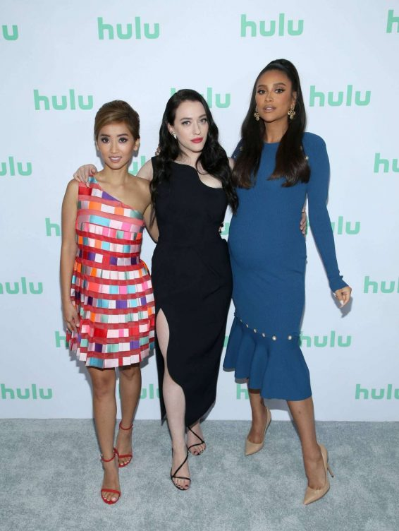 Brenda Song, Kat Dennings and Shay Mitchell - Hulu 2019 Summer TCA Press Tour in Beverly Hills