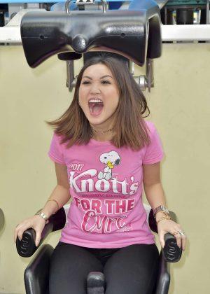 Brenda Song - #ScreamAgainstBreastCancer Event in Buena Park