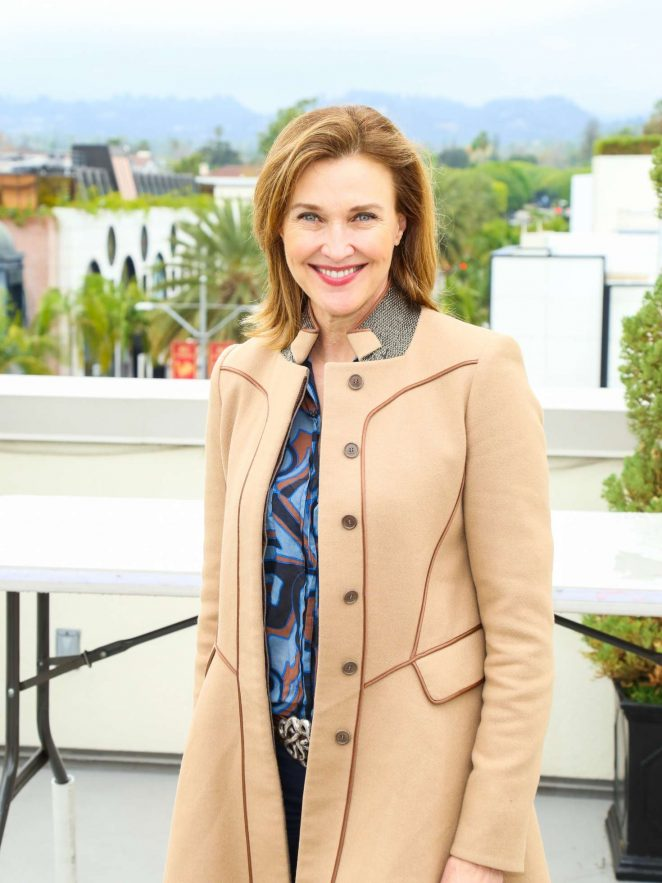 Brenda Strong at Luxe Sunset Boulevard Hotel in Los Angeles