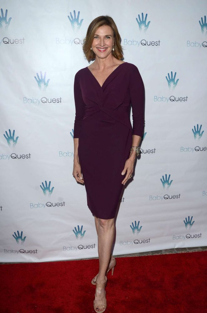 Brenda Strong - BabyQuest Let's Make A Baby Fundraiser Gala 2016 in Toluca Lake