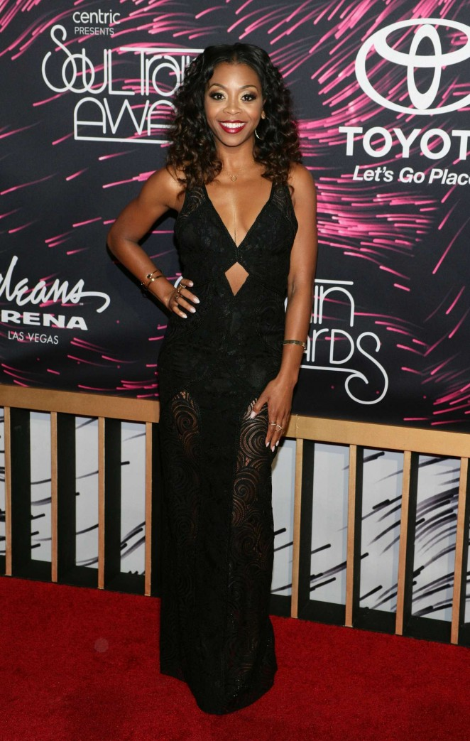 Bresha Webb - 2015 Soul Train Music Awards in Las Vegas