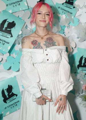 Bria Vinaite - Tiffany Paper Flowers Event in New York City