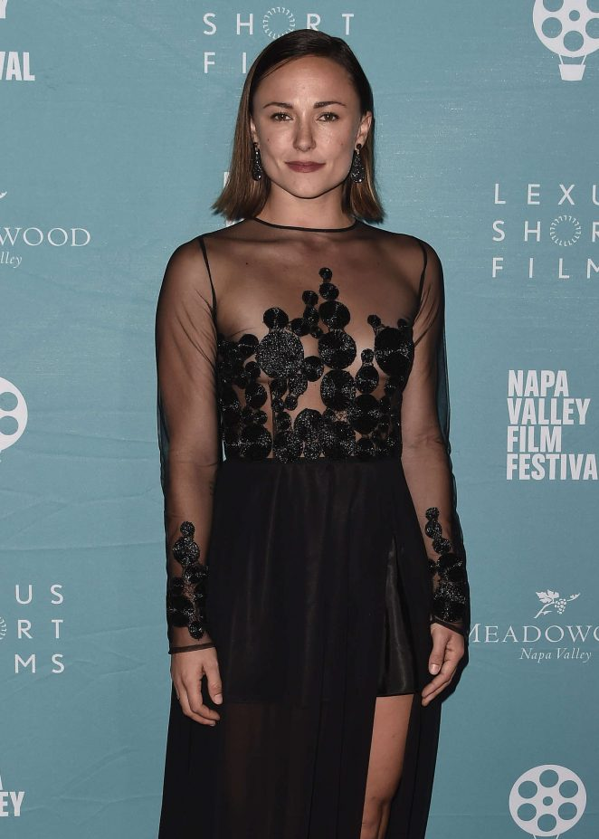 Briana Evigan - 2016 Napa Valley Film Festival in Yountville