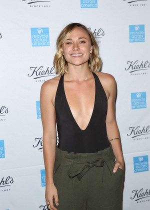 Briana Evigan - Nikki Reed Unveils Earth Day Partnership With Kiehl's For Recycle Across America in Santa Monica
