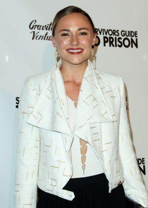 Briana Evigan - 'Survivors Guide To Prison' Premiere in Los Angeles