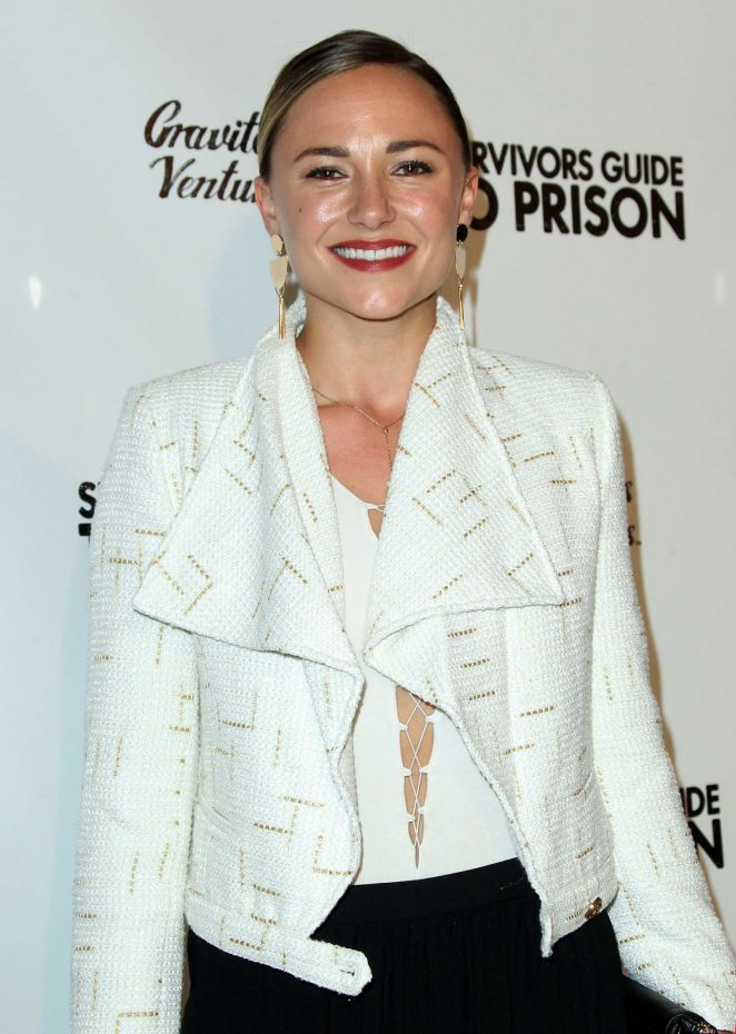 Briana Evigan - 'Survivors Guide To Prison' Premiere in Los Angeles