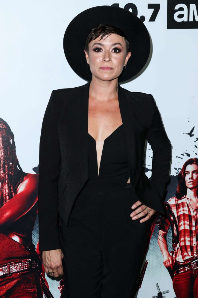 Briana Venskus - 'The Walking Dead' TV Show Screening in LA