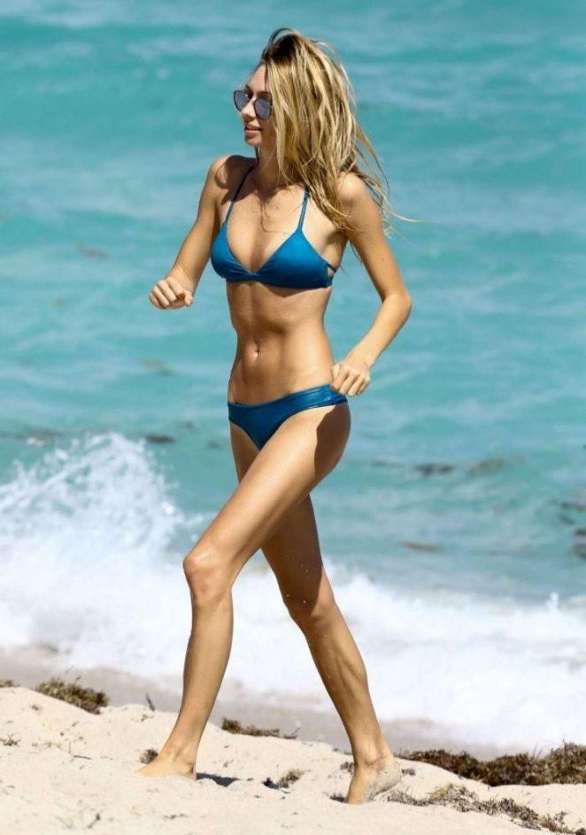 Brianna Addolorato in Blue Bikini 2017 -03