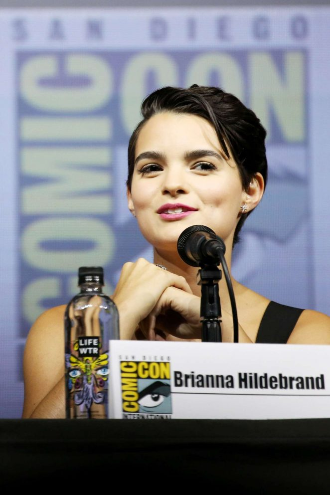 Brianna Hildebrand - 'Deadpool' Panel at 2018 Comic-Con in San Diego