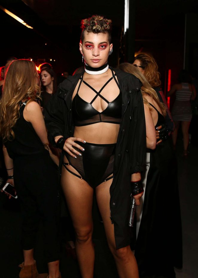 Brianna Pavon - Equinox Hollywood Body Spectacle Event in LA