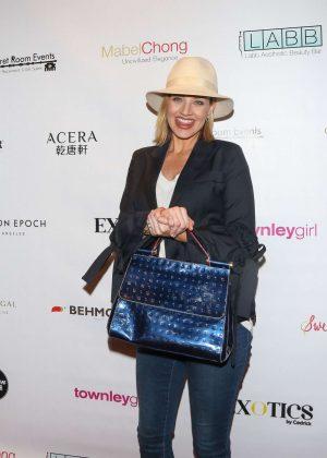 Brianne Davis - Secret Room Golden Globe Gifting Suite in LA