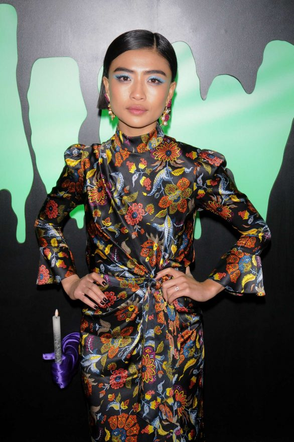 Brianne Tju - 'Huluween Party' at New York Comic Con in New York City