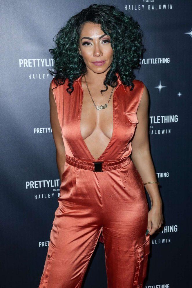 Bridget Kelly - PrettyLittleThing x Hailey Baldwin Launch Event in LA