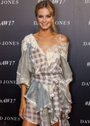 Bridget Malcolm - Autumn Winter 2017 David Jones Fashion Launch in Sydney