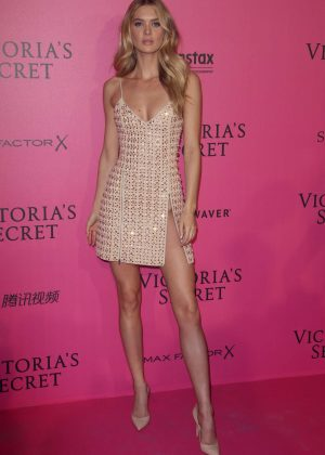 Bridget Malcolm - Victoria's Secret Fashion Show 2016 After Party in Paris