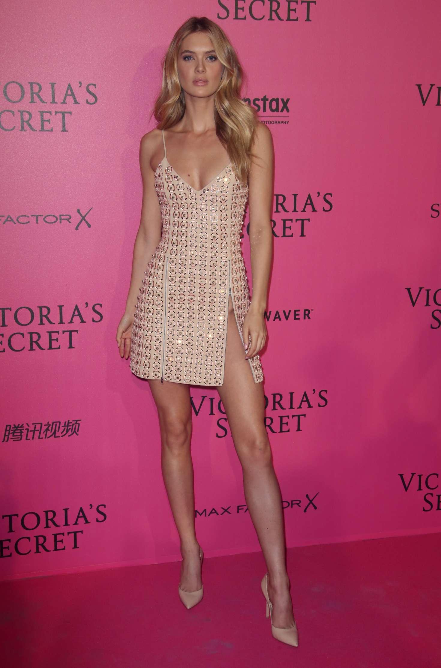 Bridget Malcolm - Victoria's Secret Fashion Show 2016 After Party in Paris