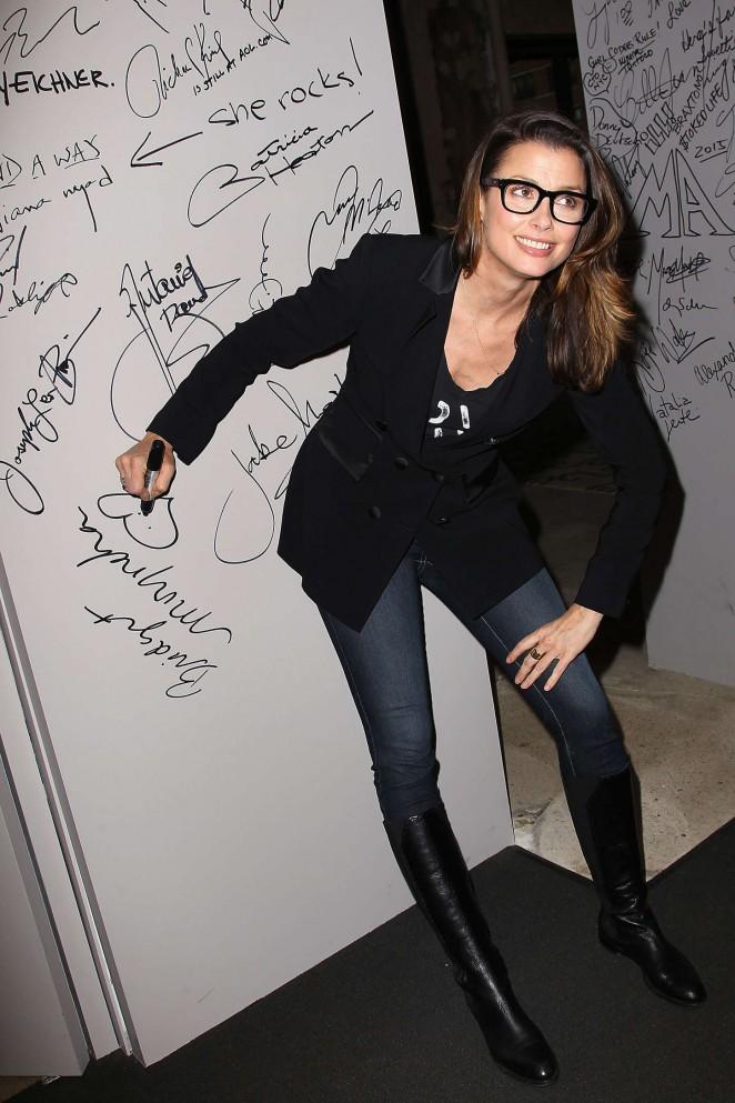 Bridget Moynahan at AOL Studios in NYC