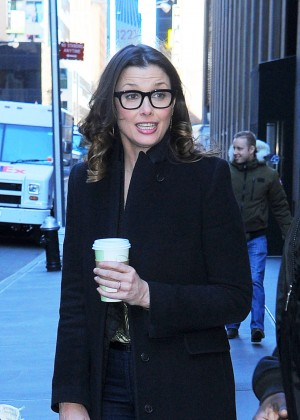 Bridget Moynahan out in Manhattan