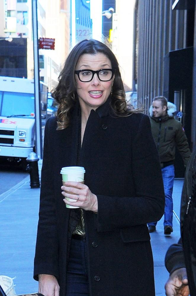 Bridget Moynahan out in Manhattan