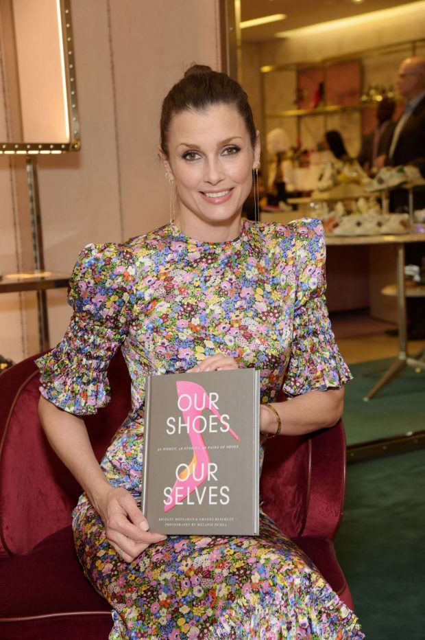 Bridget Moynahan - Present her new book 'Our Shoes, Our Selves' Book Launch in New York