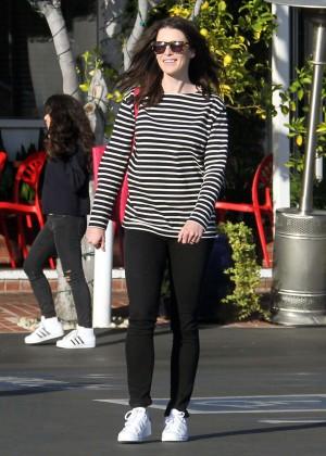 Bridget Regan out in West Hollywood