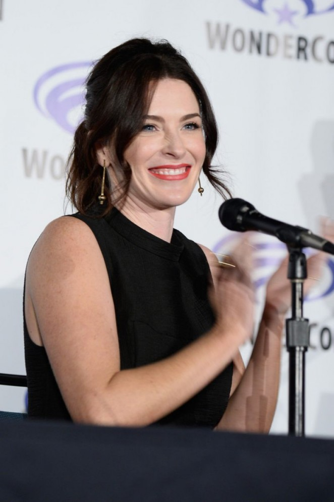Bridget Regan - TNT's The Last Ship Panel at WonderCon 2016 in Los Angeles