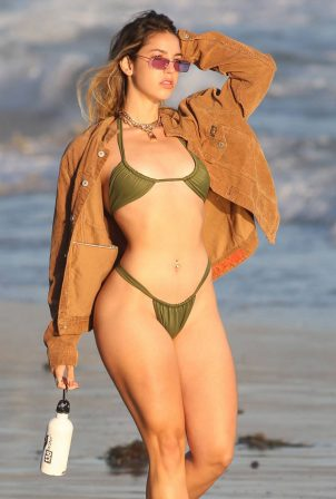 Bridgette Audrey - Bikini photoshoot for 138 brand in Malibu