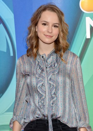 Bridgit Mendler - 2015 NBC Upfront Presentation in NYC