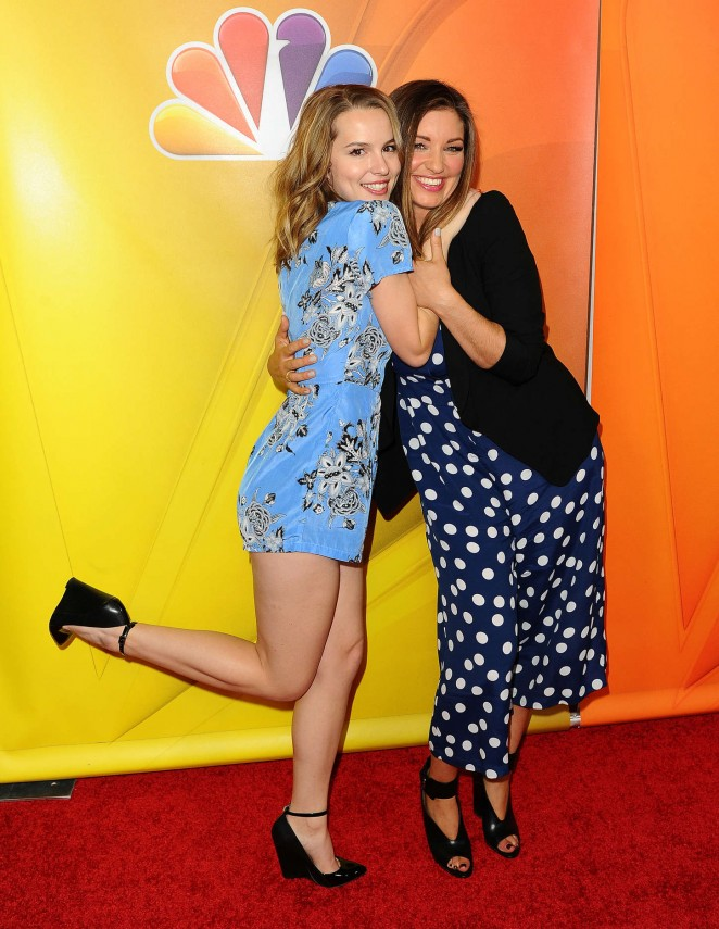 Bridgit Mendler 2015 Nbcuniversal Press Tour Day 2 06