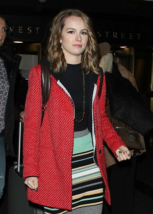 Bridgit Mendler - 'The Meredith Vieira Show' in NYC