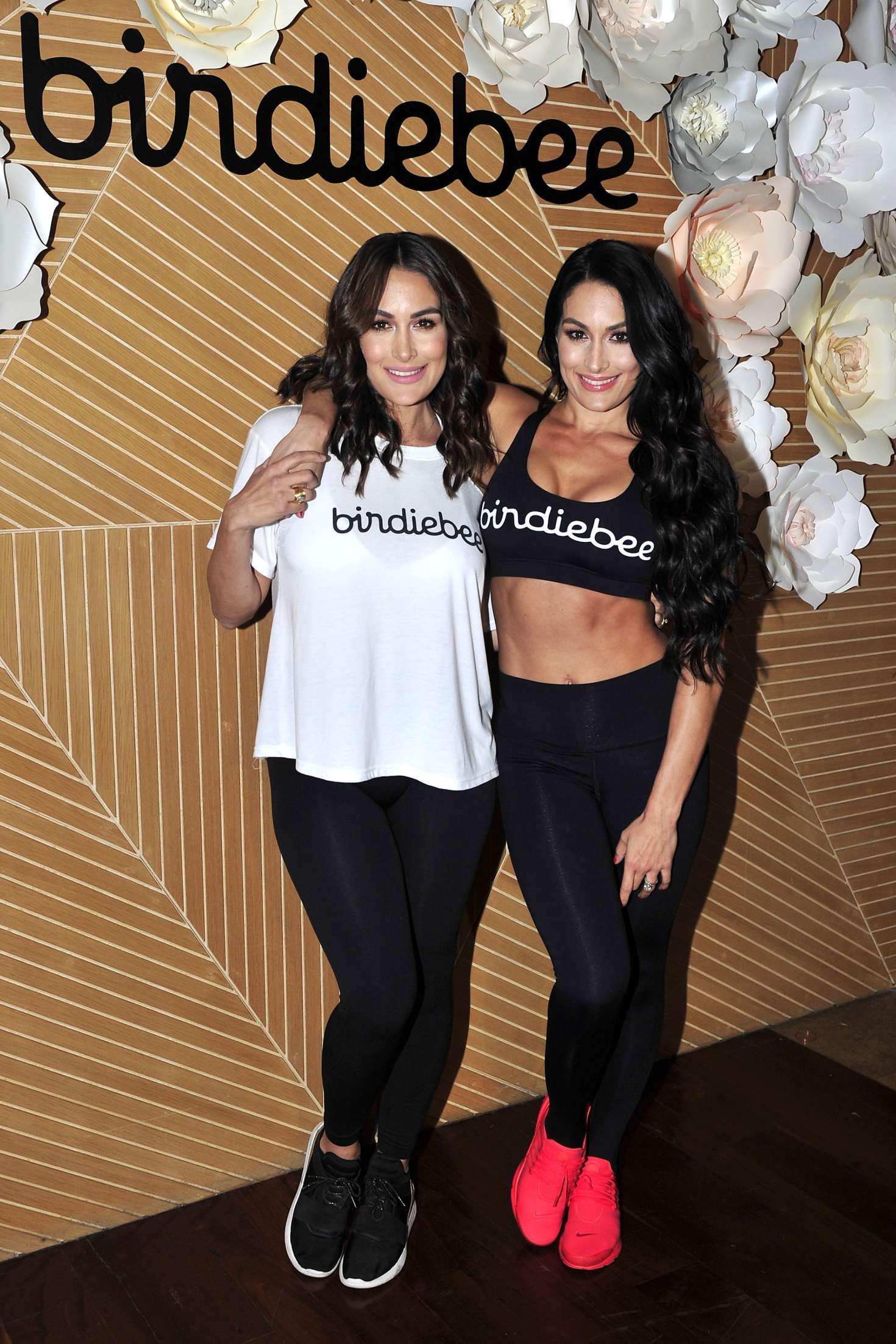 Brie Bella 2017 : Brie and Nikki Bella: Birdiebee brand of clothing launch -03