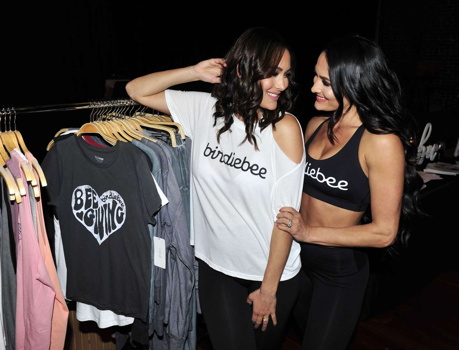 Brie Bella 2017 : Brie and Nikki Bella: Birdiebee brand of clothing launch -05